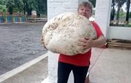 В Киевской области нашли гриб весом около 18 кг