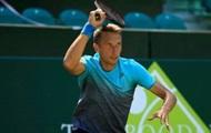 Стаховский проиграл в первом круге турнира в Сеговии