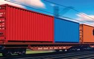 В Украине запустили экспериментальный контейнерный поезд