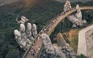 Вьетнамский Золотой мост стал Instagram-хитом