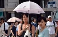 В Японии за три месяца от жары пострадали более 70 тысяч человек