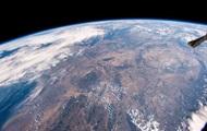 Высушенную жарой Германию показали из космоса