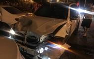 В Одессе BMW протаранил пять машин
