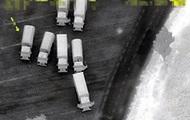 ОБСЕ показала колонны грузовиков из РФ на Донбасс