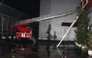 В Киеве горел офис фармацевтической компании