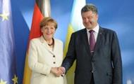 Порошенко поговорил с Меркель по телефону