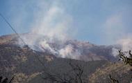 В Крыму снова загорелся природный заповедник