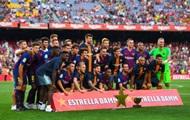 Барселона - первый испанский клуб, который сыграет с чемпионской нашивкой