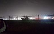 У Boeing при аварийной посадке в Маниле отвалился двигатель