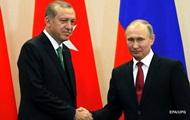 Стали відомі місце і час зустрічі Путіна й Ердогана