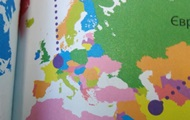 В Україні вийшла книга із зображенням Криму у складі РФ