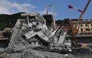 Итальянская компания обещает отстроить рухнувший мост в Генуе