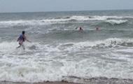 На Арабатській стрілці через шторм потонули п'ятеро людей