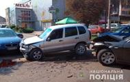 В Черновцах два ребенка пострадали в тройном ДТП