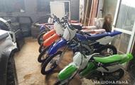 В Украине нашли три десятка угнанных в Италии мотоциклов