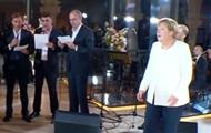 Меркель в Грузии спела любимую песню