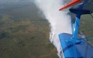 В Беларуси горят Ольманские болота