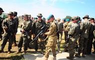 Украинские морпехи принимают участие в учениях в Румынии