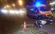 В Киеве мотоциклист насмерть сбил женщину