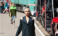 На неделе моды в Киеве провели показ на вокзале