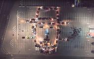 Водители создали портрет Шуфутинского из автомобилей