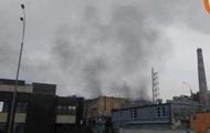 В Киеве на Подоле горел завод
