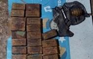 В Одесской области у мужчины изъяли взрывчатку и гранату