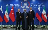 На саммите РФ, Ирана и Турции решают судьбу Сирии