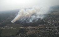 Лесной пожар в Харьковской области ликвидировали