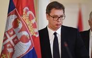 В Косово заблокировали путь кортежу президента Сербии