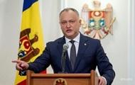 Президент Молдовы попал в ДТП
