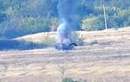 В сети показали уничтожение зенитки сепаратистов