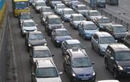 В Киеве образовались пробки