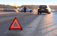В Бердянске столкнулись три авто, одно из них - полицейское