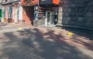 В центре Киева обрушился балкон