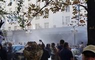 Националисты устроили беспорядки под ГПУ
