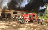 Пожар на комбинате в Житомире локализовали