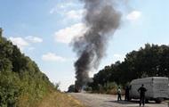 В Сумской области на ходу загорелся автобус с детьми