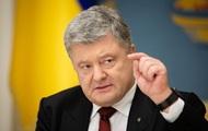 Рейтинг Путина пострадал из-за санкций – Порошенко