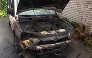 В Черновцах подожгли авто городского чиновника
