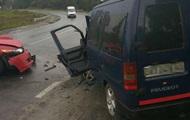 Во Львовской области в ДТП травмировались пять человек