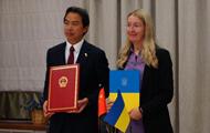 Китай передал Украине 50 авто