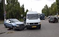 В Николаеве попала в ДТП маршрутка с пассажирами
