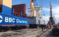 В Украину прибыла партия американских локомотивов