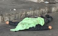 В Киеве на рынке замерз бездомный