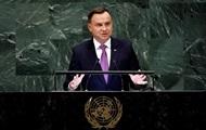 Дуда напомнил ООН об украинском ядерном оружии