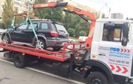 В Киеве за день эвакуировали 23 неправильно припаркованные авто