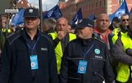 В Варшаве проходит масштабный акция протеста правоохранителей
