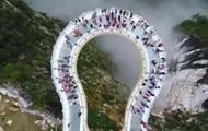 В Китае появился стеклянный мост со спецэффектами - Real estate