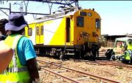 В ЮАР столкнулись два поезда, более 300 пострадавших